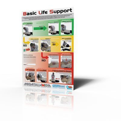 Poster B.L.S. - Basic Life Support