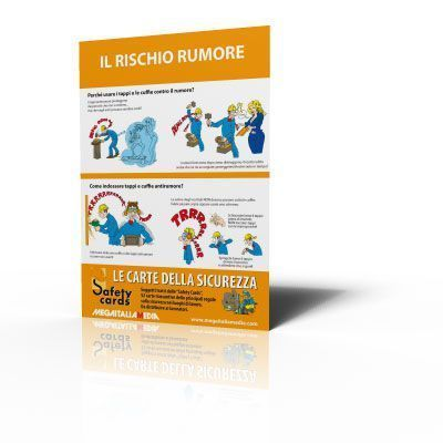 Poster Safety Cards - Il rischio rumore