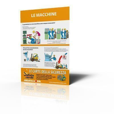 Poster Safety Cards - Le macchine
