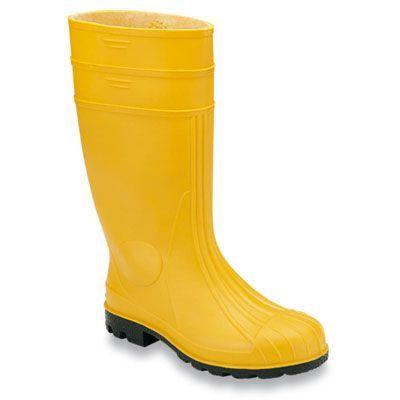 Stivali antiscivolo in PVC gialli