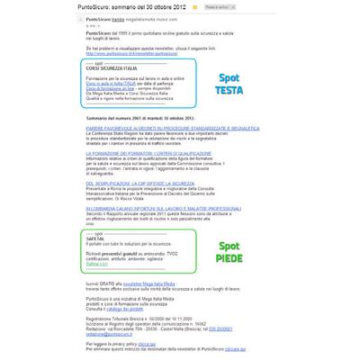 Newsletter SPOT Testa