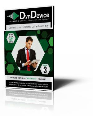 Brochure Piattaforma e-Learning: DYNDEVICE LCMS