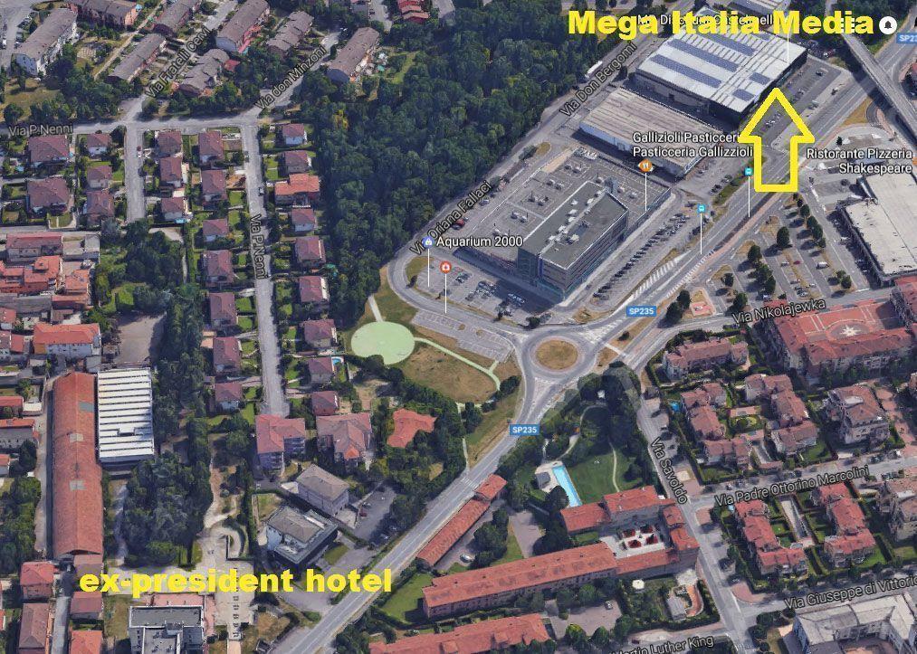 Mappa 3D MegaItaliaMedia
