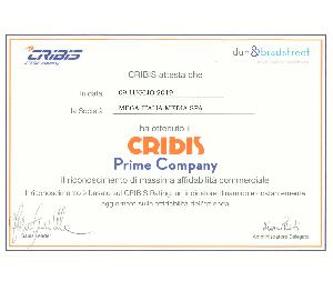 Mega Italia Media è Cribis Prime Company