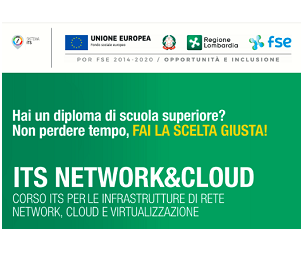 Mega Italia Media partecipa al progetto di ITS Network & Cloud