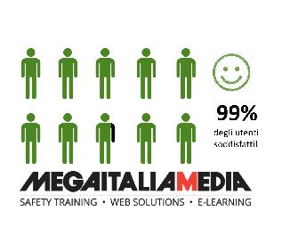 Corsi e-Learning Mega Italia Media: il 99% degli utenti è soddisfatto!