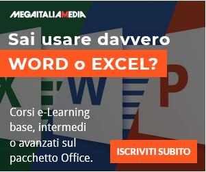Sai usare davvero Word o Excel? Impara bene oggi, risparmia soldi e tempo domani con i nostri corsi online.
