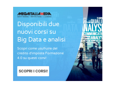 NOVITA': disponibili nuovi corsi Data Science