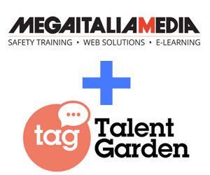 Mega Italia Media aderisce a Talent Garden per diffondere la cultura dell'e-Learning