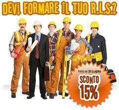 La formazione del RLS al 15% di Sconto fino al 31 Luglio