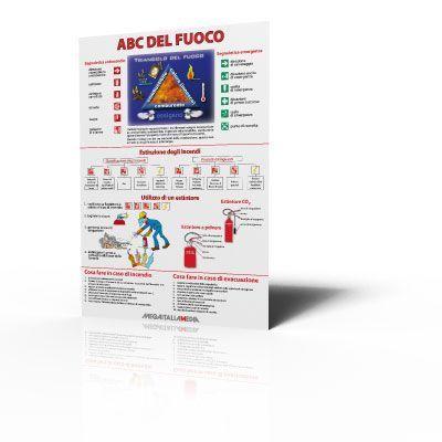 Poster ABC del fuoco