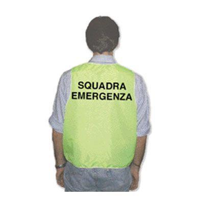 Gilet per squadra di emergenza - Colore Giallo