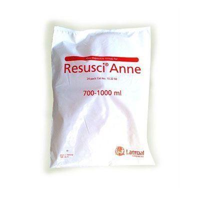 Manichino Resusci Anne - Vie respiratorie (Confezione 24 pezzi)