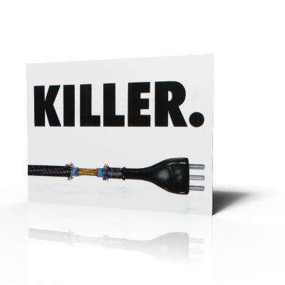 Poster Elettricità Killer