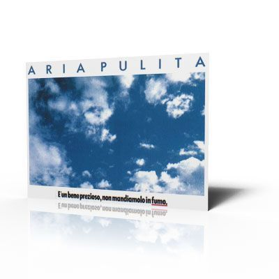 Poster Aria pulita