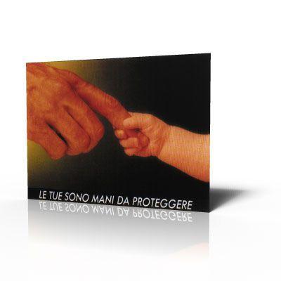 Poster Protezione mani