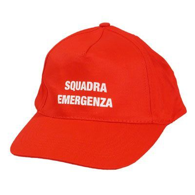 Cappellino Squadra Emergenza