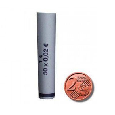 Minitubi da 2 Cent di € per 50 monete