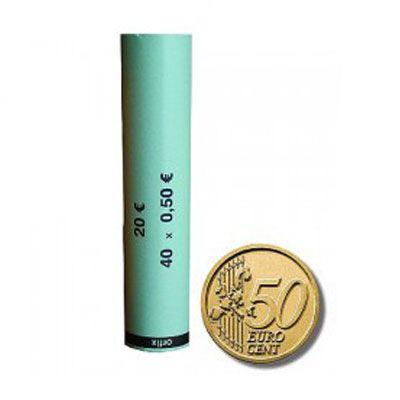 Minitubi da 50 Cent di € per 40 monete