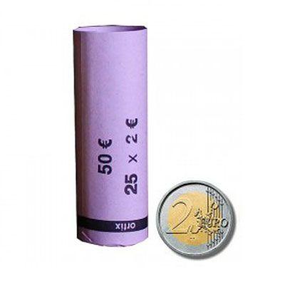 Minitubi da 2 € per 25 monete