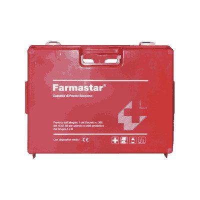 Cassetta di primo soccorso FarmaStar con sfigmomanometro digitale