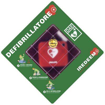 Teca porta Defibrillatore DAE HeartStart HS1
