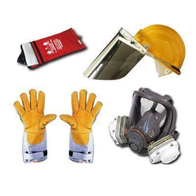 Kit attrezzature antincendio per 2 addetti