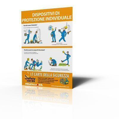 Poster Safety Cards - Dispositivi di Protezione Individuale