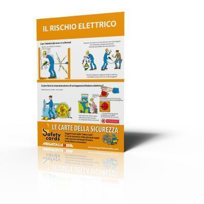 Poster Safety Cards - Il rischio elettrico