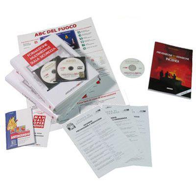 Kit Corso 4 ore per addetto antincendio in DVD