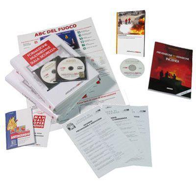 Immagine Kit Corso 8 ore per addetto antincendio in DVD
