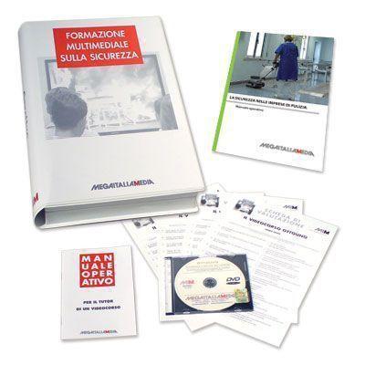 Sicurezza nelle imprese di pulizia in DVD