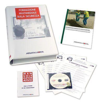 Immagine Movimentazione manuale dei carichi in cantiere in DVD