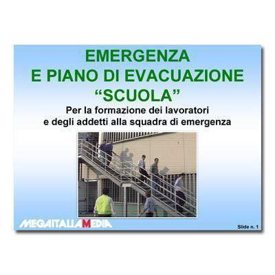 Immagine Emergenza e piano di evacuazione - Versione Scuola