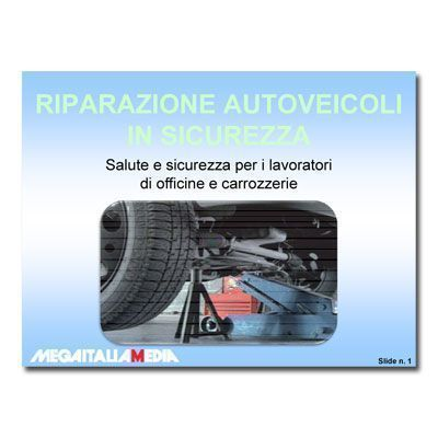 Riparazione autoveicoli in sicurezza