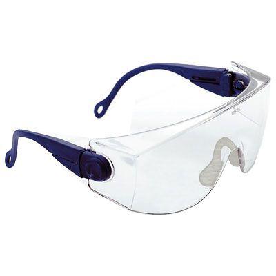 Occhiali protettivi monolente policarbonato