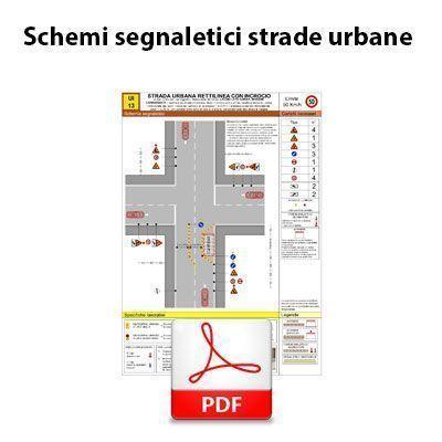 Immagine Schemi segnaletici strade urbane - PDF