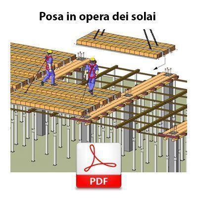 Immagine Posa in opera dei solai: procedure di sicurezza condivise - PDF