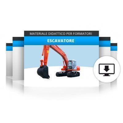 Formazione operatori per escavatore idraulico