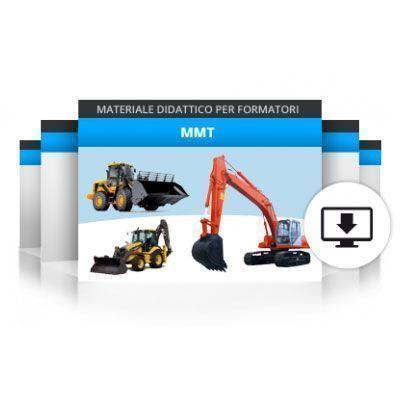 Formazione operatori per macchine movimento terra (escavatore idraulico, caricatore frontale, terna)