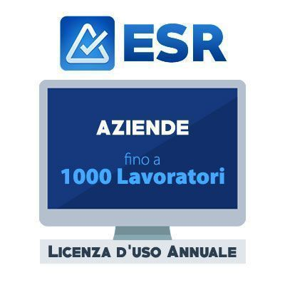 Software EASY SAFETY REMINDER: 501-1000 Lavoratori (Licenza uso annuale)