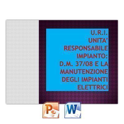 Corso di formazione per U.R.I. (Unità Responsabile Impianto elettrico)