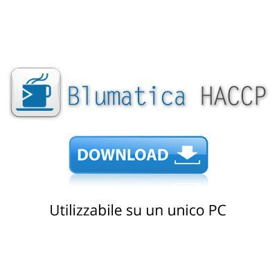 Immagine Blumatica HACCP - Software per redigere il Manuale di Autocontrollo (Vers. DOWNLOAD)