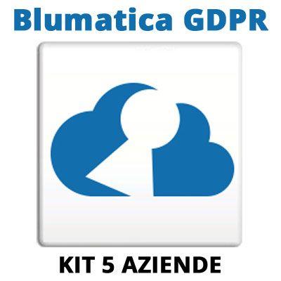 Blumatica GDPR: KIT 5 Aziende aggiuntive