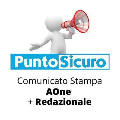 Comunicato Stampa AOne + Redazionale