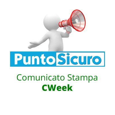 Comunicato Stampa CWeek