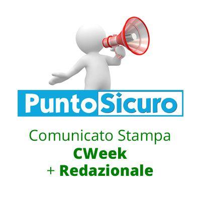 Comunicato Stampa CWeek + Redazionale