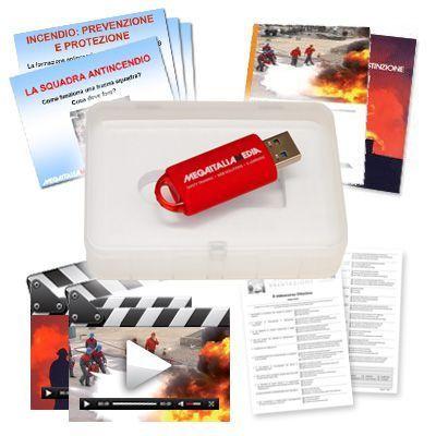 Kit Corso 8 ore per addetto antincendio