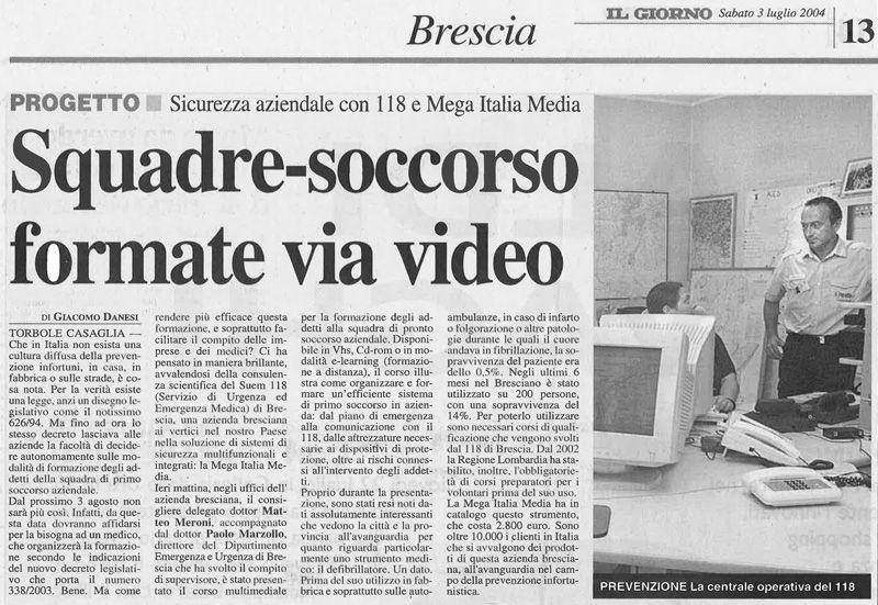 Rassegna Stampa Mega Italia Media